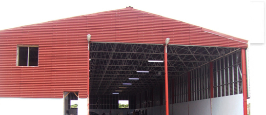 Metal construction Cyprus – Storages and factories