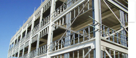 Steel construction Cyprus – commercial steel framing