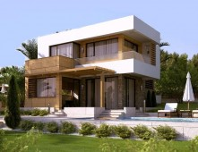 (English) Steel frame houses Cyprus – house model Mariel