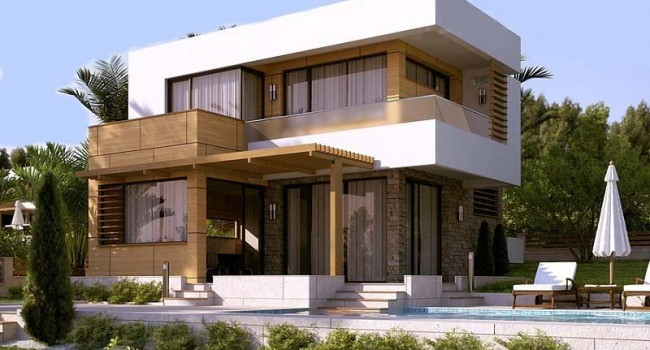 Steel frame houses cyprus by pelasgos homes house model for Architect designed modular homes