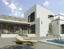 Metal houses Cyprus – design Leona