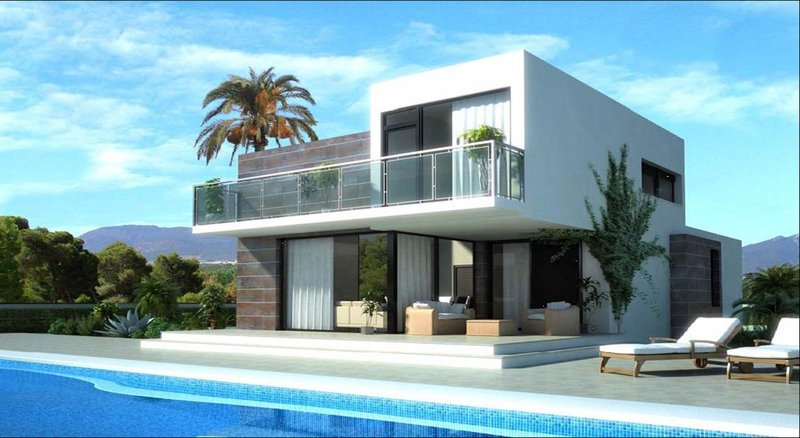 Steel frame homes cyprus by pelasgos homes model lisaja - Steel framing espana ...