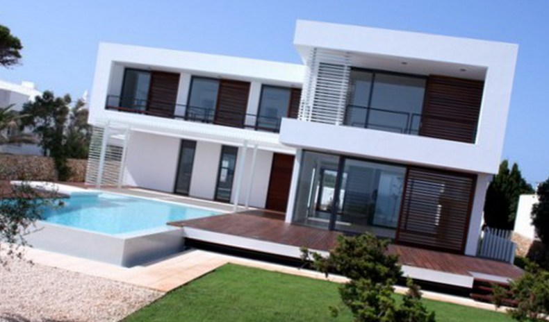 Steel Frame Homes Cyprus Facades By Pelasgos Homes