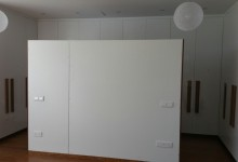 Wardrobe room for the project in Aradipou