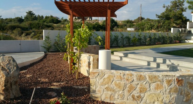 Landscape Maintenance with Pelasgos Homes