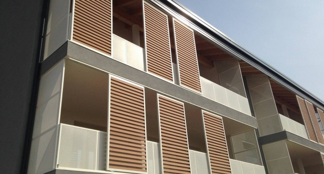 Shading systems of wood and metal frame in Cyprus