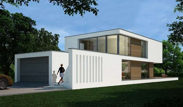 Modern Design Steel Frame Home – 994