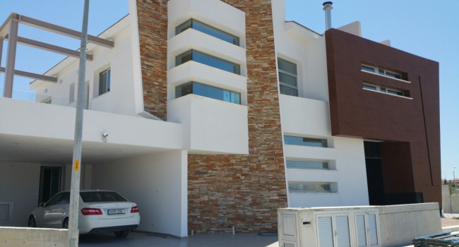 Private house – heavy metal construction Larnaca