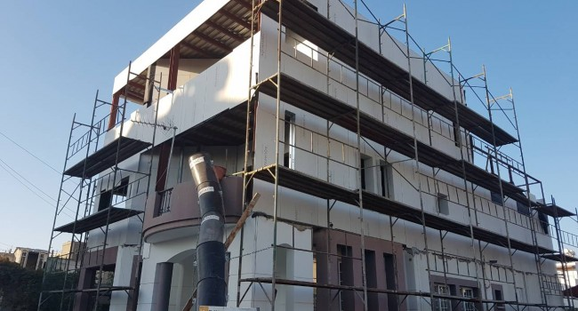 Extension – steel on top of existing house