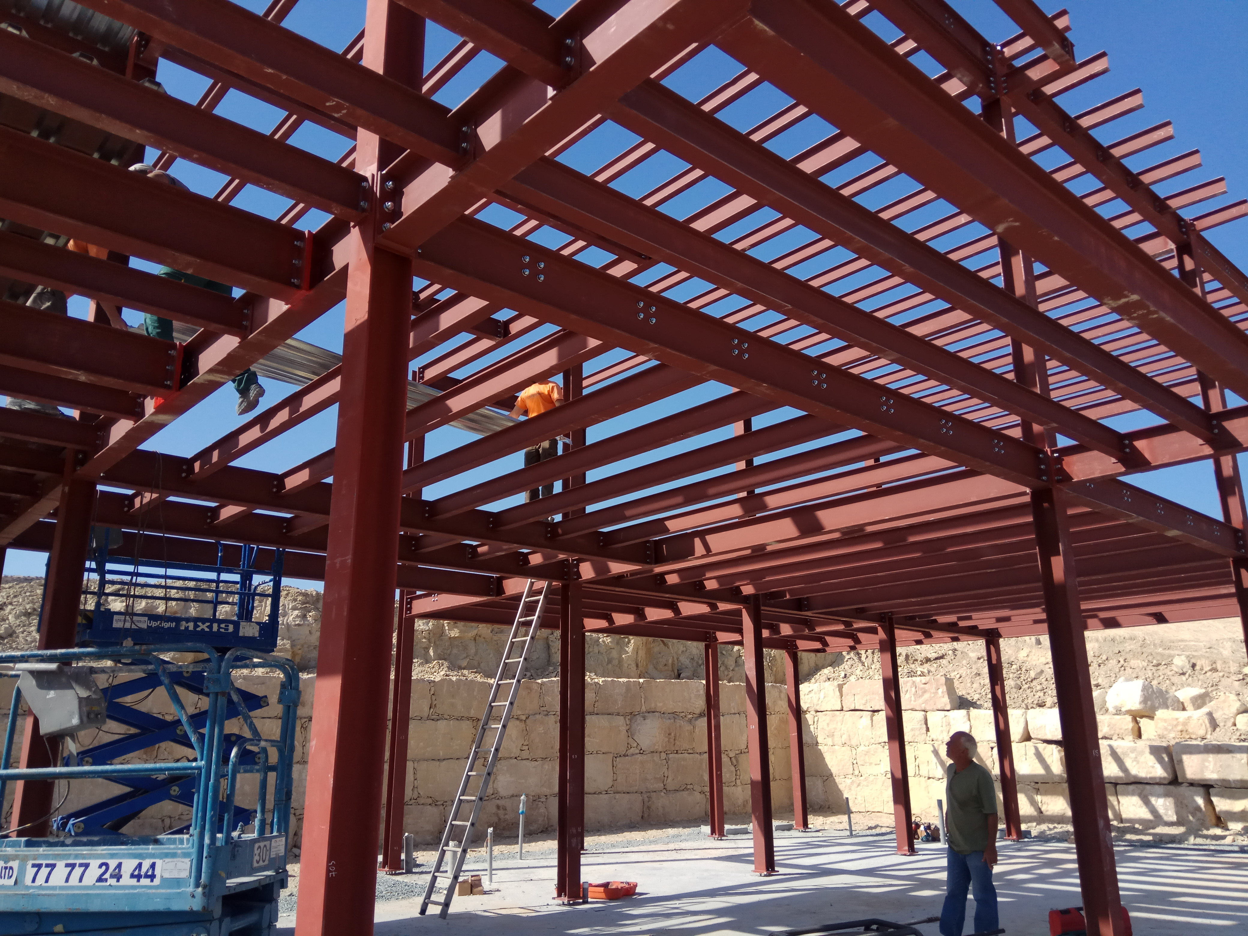 Project In Pissouri With Steel Structure Pelasgos Homes